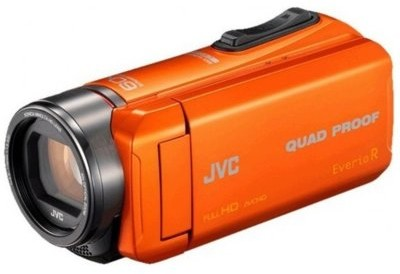 JVC GZ-R445DEU pomarańczowa