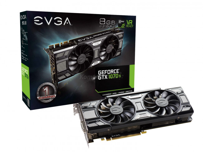 EVGA GeForce GTX 1070 Ti SC Gaming VR Ready (08G-P4-5671-KR)