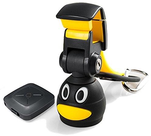 Fotopro iStabilizer kijka do selfie iPhone 6Mini Bluetooth z ruchomym Stick głowa Selfie Bottle Shutter Control 10m uniwersalna dla telefonów iPhone 55S 6S i Samsung Galaxy, czarny/żółty H1
