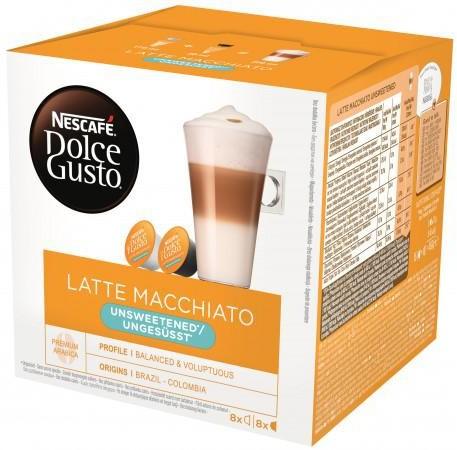 Nescafe DOLCE GUSTO DOLCE GUSTO Latte Machhiato Unsweetened 16 kapsułek