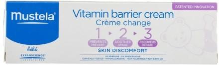 Mustela Krem witaminowo-ochronny do skóry pośladków 1 2 3 - Bebe 1 2 3 Vitamin Barrier Cream Krem witaminowo-ochronny do skóry pośladków 1 2 3 - Bebe 1 2 3 Vitamin Barrier Cream