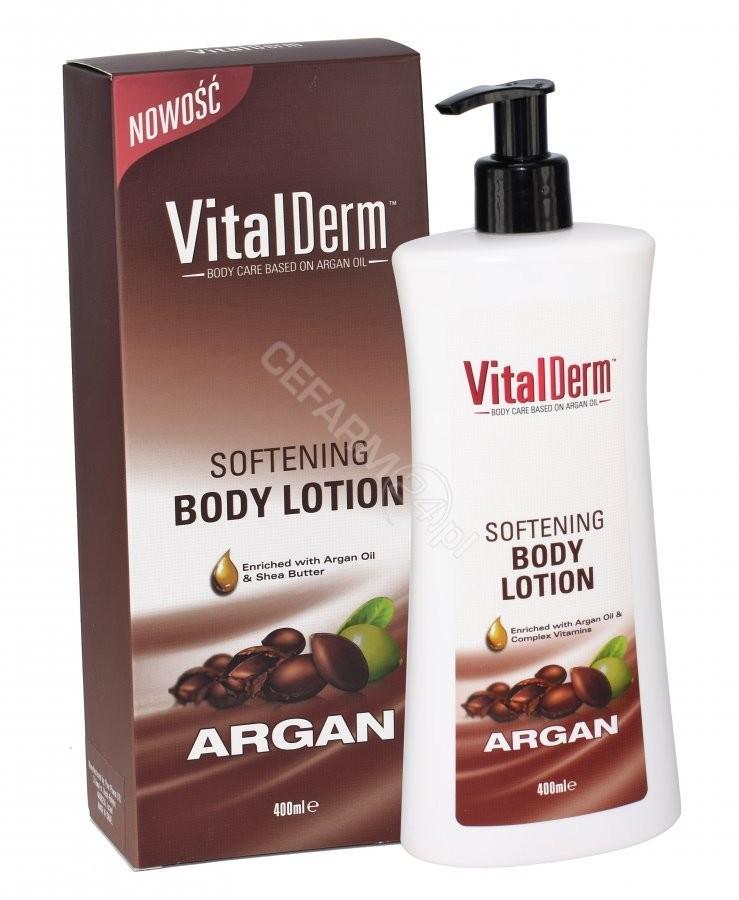 VitalDerm Balsam do ciała arganowy 400 ml