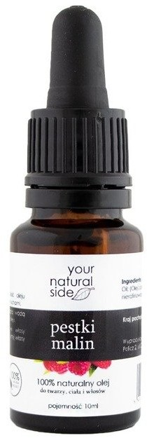 Your Natural Side Olej z pestek malin 100% naturalny 10ml 22279-uniw