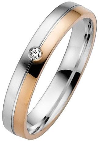 Trauringe Liebe hoch zwei Obrączki ślubne miłość wysokiej dwoma pierścionek damski 035506117338 03550611733858