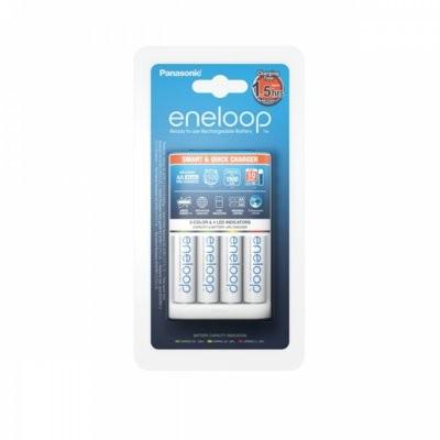 Panasonic BQ-CC55 + 4 x R6/AA Eneloop 1900 mAh (K-KJ55MCC40E)