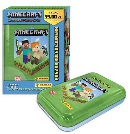 Panini Minecraft Puszka kolekcjonera