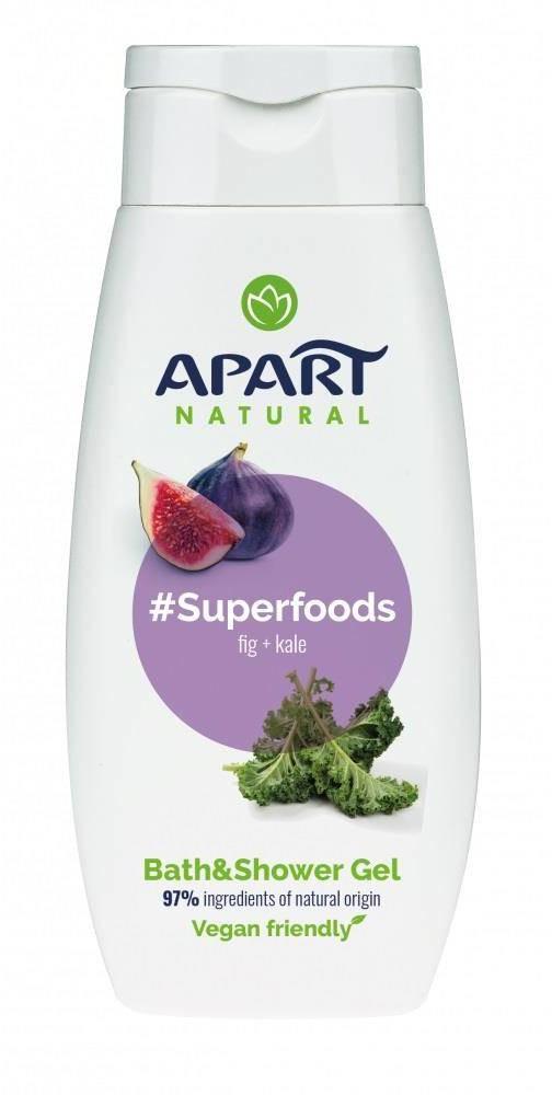 Apart NATURAL #Superfoods żel pod prysznic Figa i Jarmuż 300ml