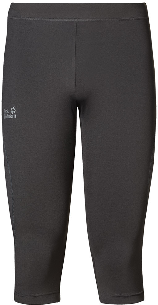 Jack Wolfskin Getry legginsy 3/4 PASSION TRAIL TIGHTS MEN dark steel