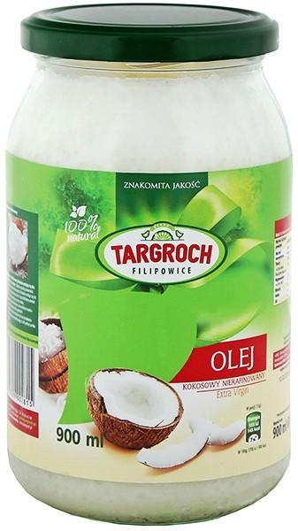 Targroch TAR-GROCH Olej kokosowy nierafinowany 900 ml