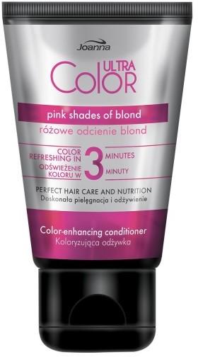 Joanna Ultra Color Odżywka do włosów koloryzująca - różowe odcienie blond 100g SO_110810