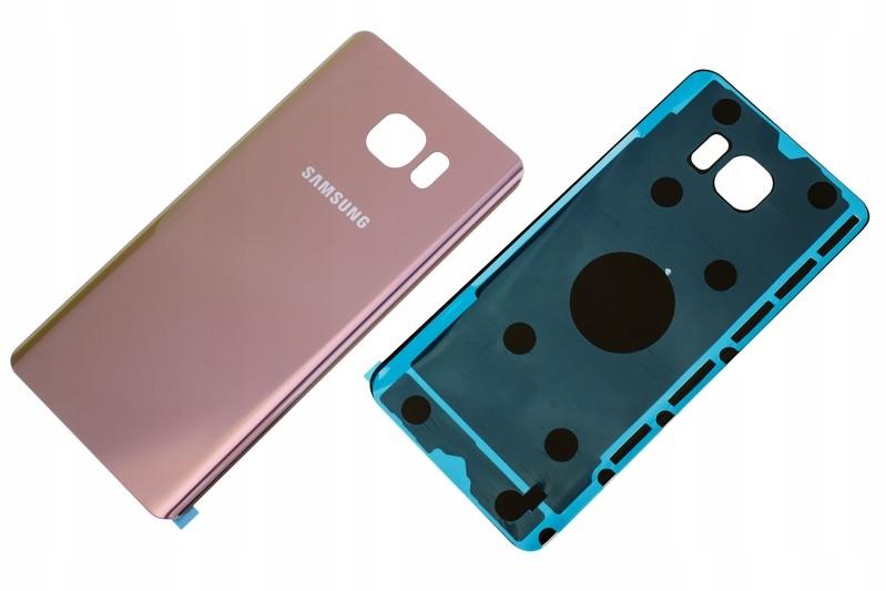 Samsung Galaxy Note 5 N920 Klapka Obudowa Różowy