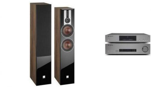 Cambridge Audio CXA61 + CXC v2 + DALI OPTICON 6 Orzech