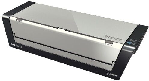 Leitz iLAM touch Turbo Pro laminator, A3Srebrny 75190000