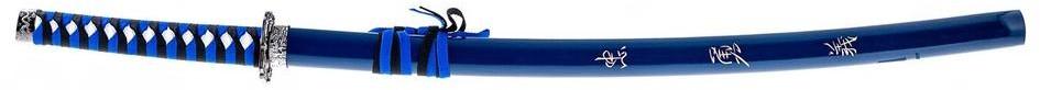 Master Cutlery Profesjonalny Duży Miecz Samurajski/Katana SWORD BLUE 40