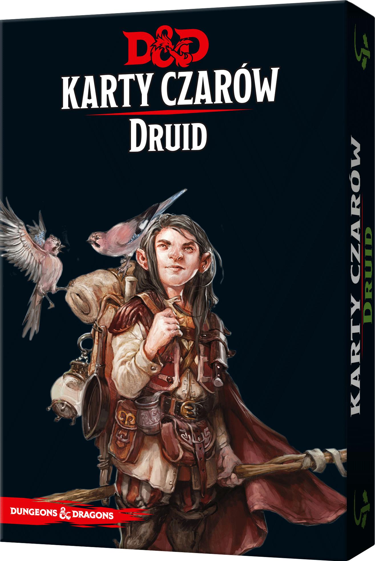 Rebel Dungeons & Dragons. Karty czarów, Druid