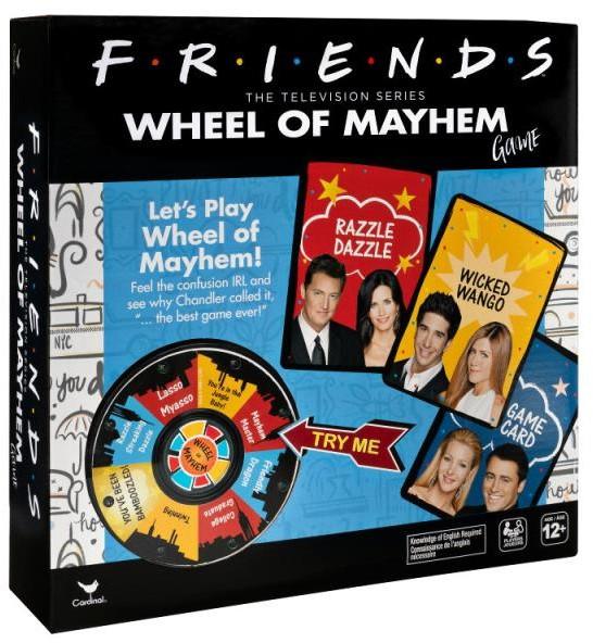 Spin Master Koło Chaosu Friends Przyjaciele