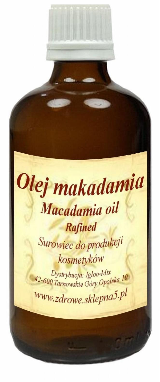 Olej Makadamia 250ml - Macadamia