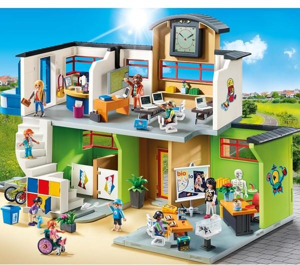 Playmobil Miejskie Życie - Furnished School Building 9453