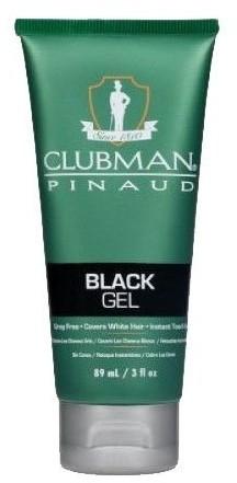 CLUBMAN PINAUD Gel Black żel koloryzujący włosy czarny 89 ml Clubman Pinaud CLU000021