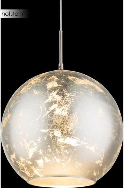 Globo Lighting Oświetlenie ZACATE Lampa Wisząca Nikiel matowy, 1-punktowy 54840H