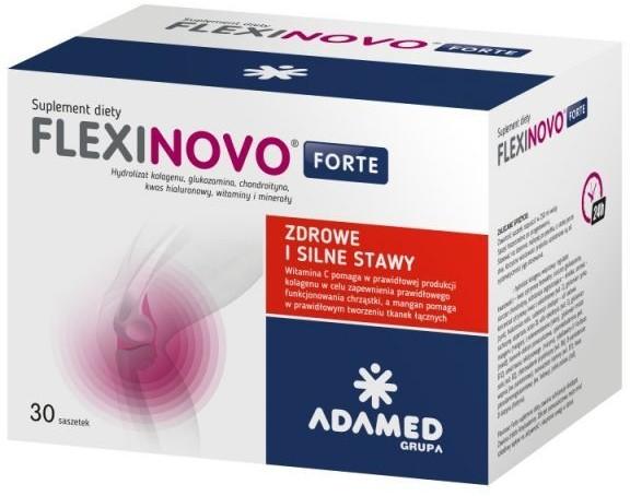 ADAMED Flexinovo Forte 30 saszetek Długi termin ważności! 3012991