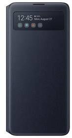 Pokrowiec na telefon Samsung S View Wallet Cover pro Note10 Lite EF-EN770PBEGEU) Czarne