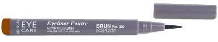 EYE CARE Eye Care Eyeliner Flamaster Kolor: brązowy, 1er Pack (1X 1sztuki) FPEL320
