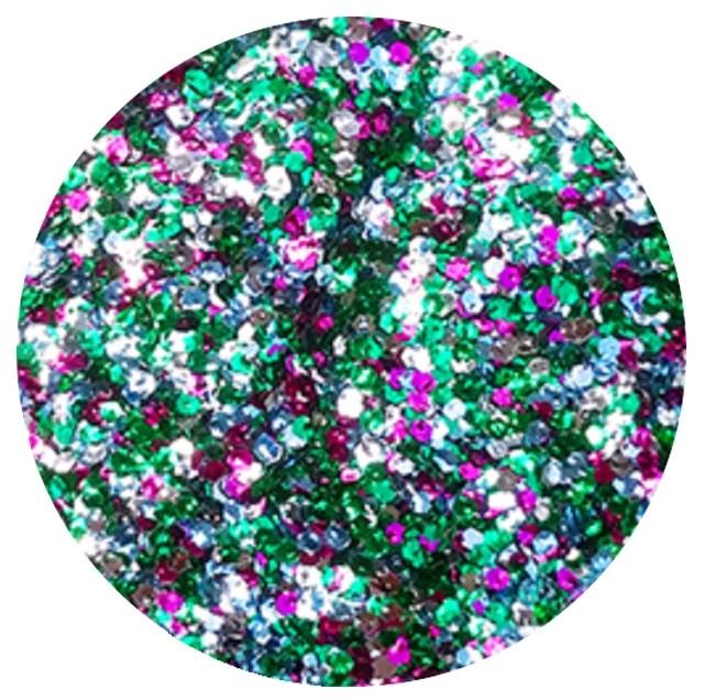 Vanity Brokat Multicolor Hexagon Exclusive 04 7600404