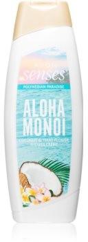 Avon Senses Aloha Monoi kremowy żel pod prysznic 500 ml