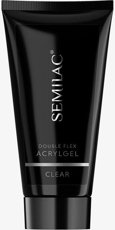 Semilac Diamond Cosmetics Akrylożel Double Flex Acrylgel Clear 60ml