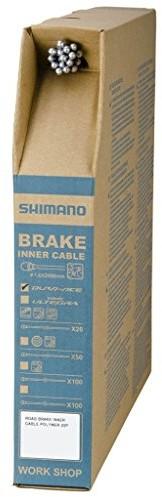 SHIMANO bremsinnen lina Polymer 2000 MM x20st Road, powleczona Box 20 szt., 1.6 MM opakowanie linki hamulcowej Dura-Ace BC-warsztatowa 9000 Polymer Art-Nr. Y-8yz98051 Y8YZ98051