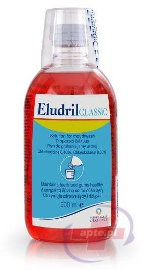 Pierre Fabre Eludril Płyn do płukania jamy ustnej 500 ml