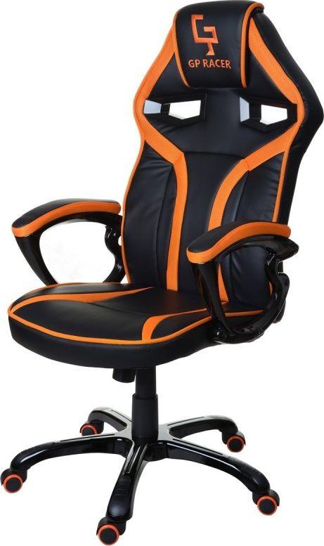 GIOSEDIO GPR049 czarno-pomarańczowy