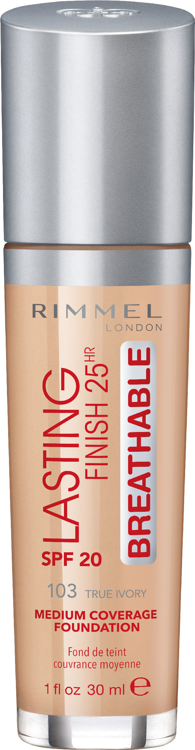 Rimmel Lasting Finish Breathable Podkład do Twarzy 103 True Ivory RIM-2699