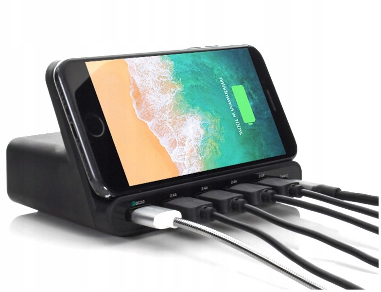 Samsung Ładowarka Biurkowa Qi Do Galaxy S10