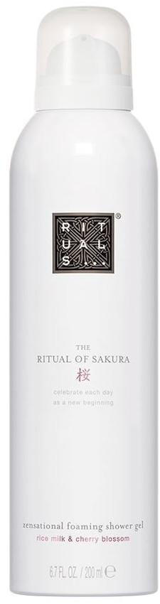 Rituals Sakura The Ritual of Sakura Foaming Shower Gel żel pod prysznic 200 ml