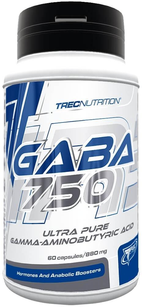 Trec Gaba 750 60caps (TREC GABA 750 60KAPS)