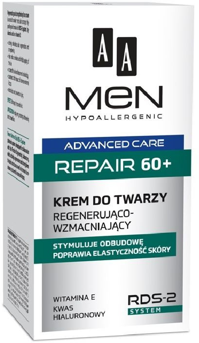 Oceanic AA Men Adventure Care Repair 60+ krem do twarzy 50 ml