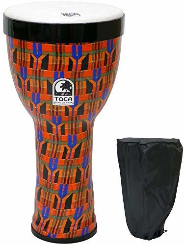 Toca Gniazdo bębny Freestyle II Wykończenie: Kente Kloth, 25,4 cm TF2ND-10K TF2ND10K