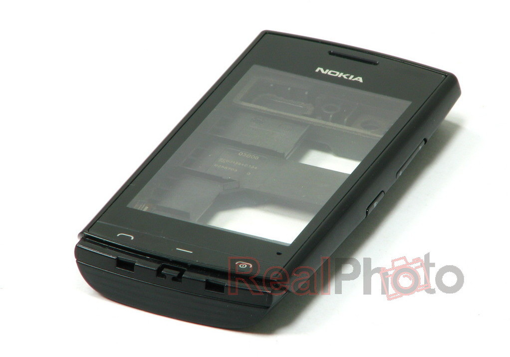 Nokia Oryginalna Obudowa 500 Czarna Grade B W102
