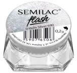 Semilac Flash Holo pyłek do paznokci 690 Holo Silver 0,2g