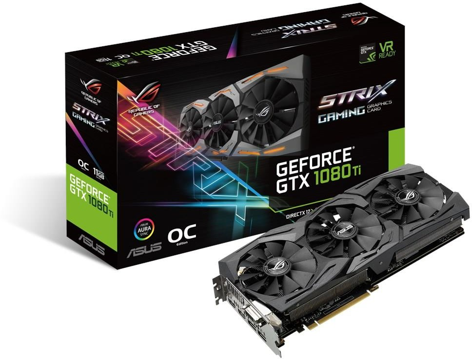 Asus ROG Strix GeForce GTX 1080 Ti OC (90YV0AM0-M0NM00)