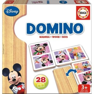 Educa Drewniane, Mickey i Minnie 16037
