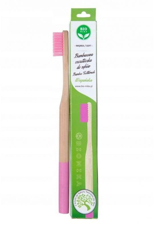 Szczoteczka do zębów bambusowa  (kolory)