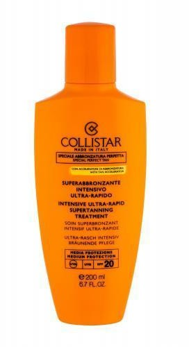 Collistar Special Perfect Tan Intensive Ultra-Rapid Supertanning SPF20 preparat do opalania ciała 200ml