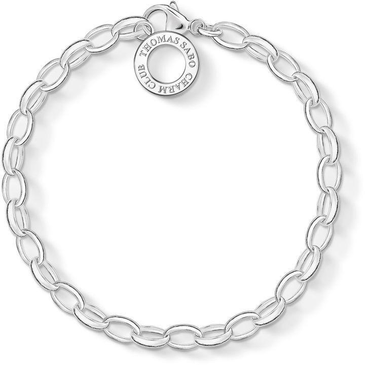 Thomas Sabo Jewellery Thomas Sabo Thomas Sabo Charm Club Charm Bracelet X0031-001-12-S X0031-001-12-S
