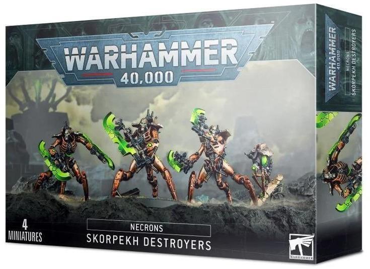 Games Workshop Necrons Skorpekh Destroyers (99120110051) 49-31