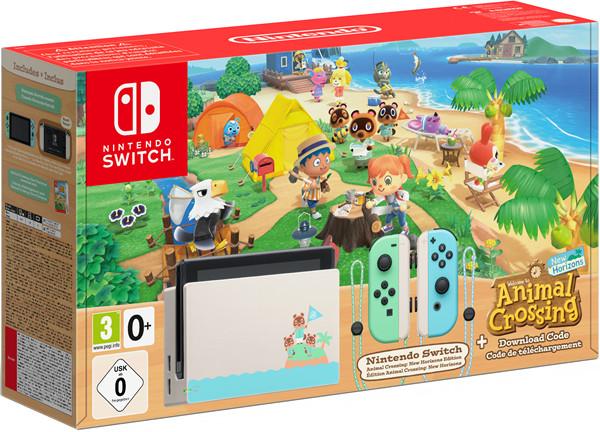 Nintendo Switch Animal Crossing: New Horizons-Edition (Edycja limitowana)