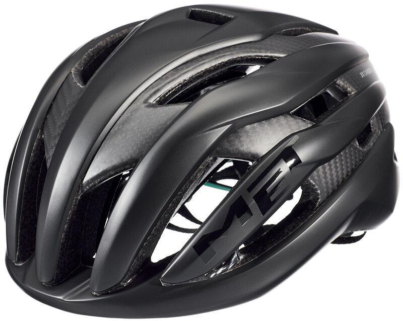 MET Trenta 3K Carbon Kask rowerowy, black L 58-61cm 2020 Kaski triathlonowe 57001908