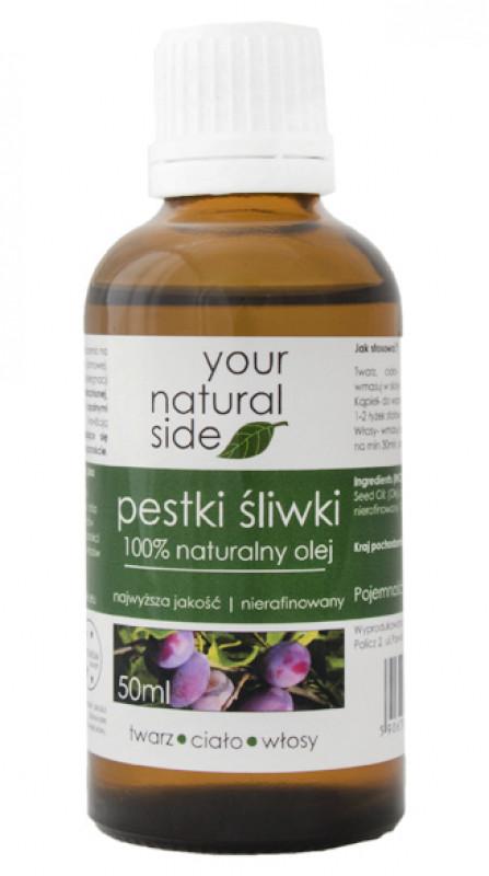Your Natural Side 100% naturalny olej z pestek śliwek - 50 ml YOUNZSML